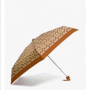 Coach - Signature Mini Umbrella